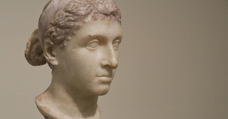 What Did Cleopatra Look Like Roman Blair